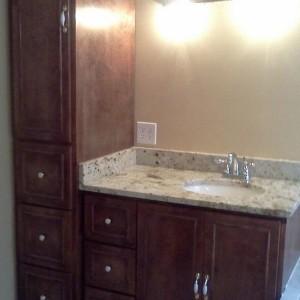 Bathroom Vanity With Linen Closet