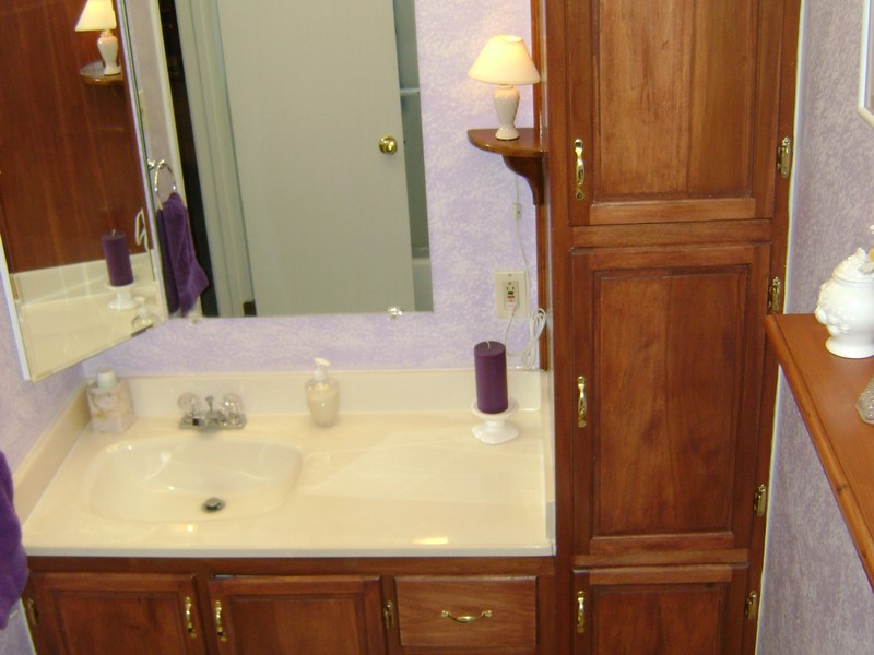 Bathroom Vanity With Tall Cabinet