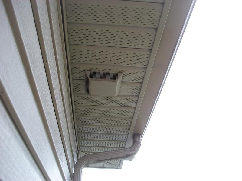 Bathroom Vent Through Soffit