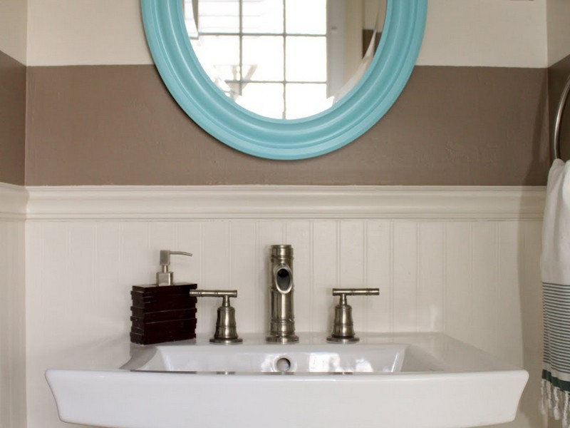 Bathroom Wainscoting Colors