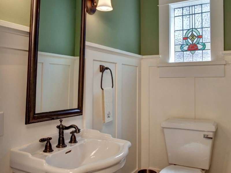 Bathroom Wainscoting Tall
