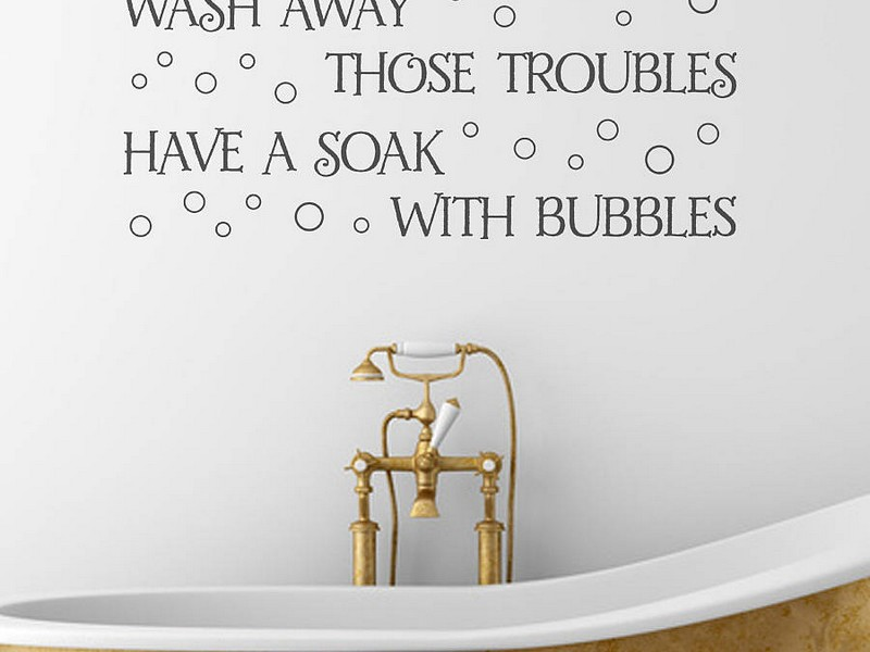 Bathroom Wall Decals Target