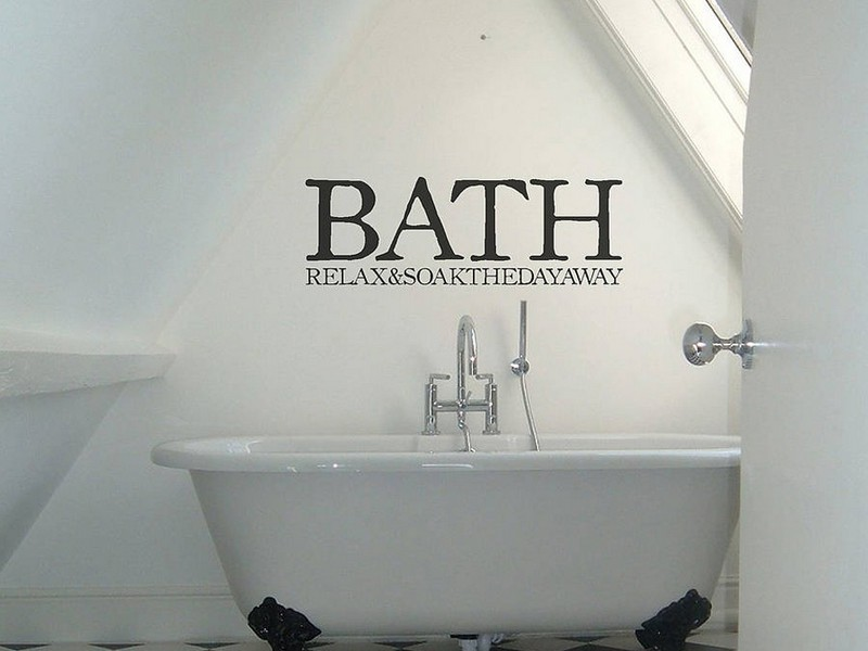 Bathroom Wall Decals Uk