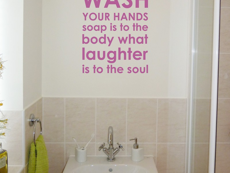 Bathroom Wall Murals Stickers