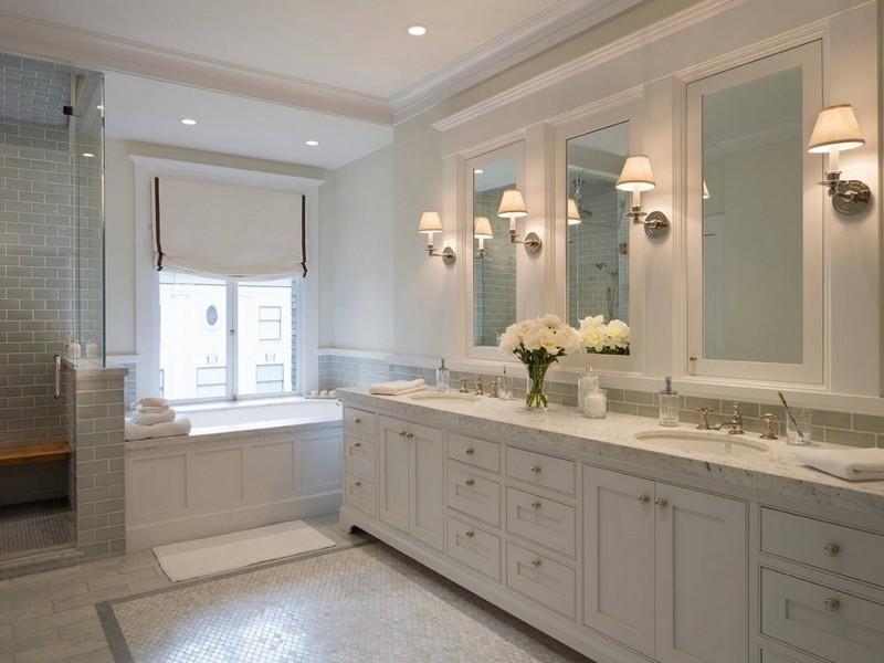 Bathroom Wall Sconce Height