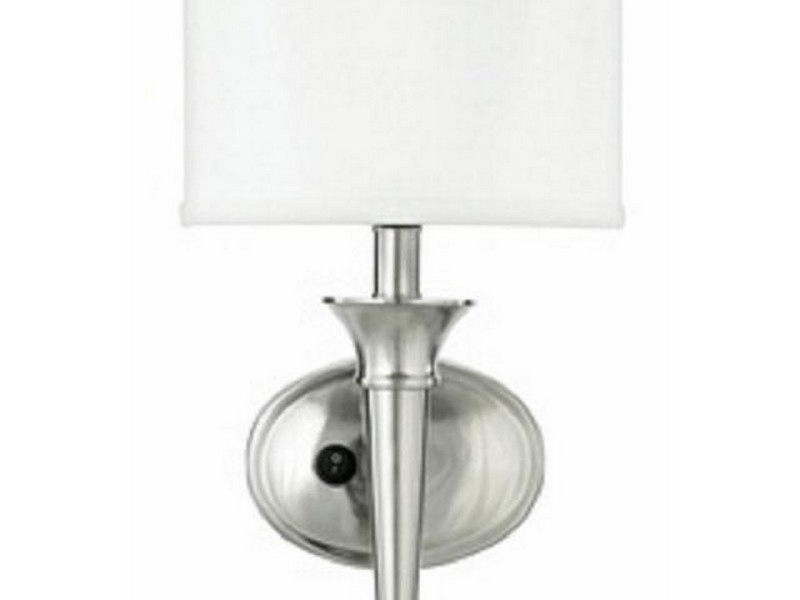 Bathroom Wall Sconces Brushed Nickel