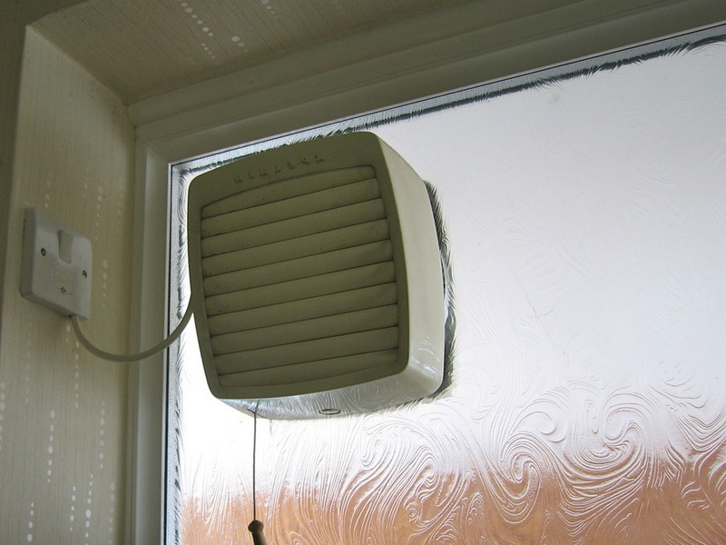 Bathroom Window Ventilation Fan