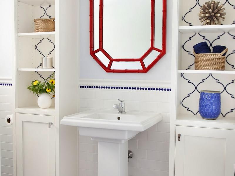 Bathrooms With Two Pedestal Sinks