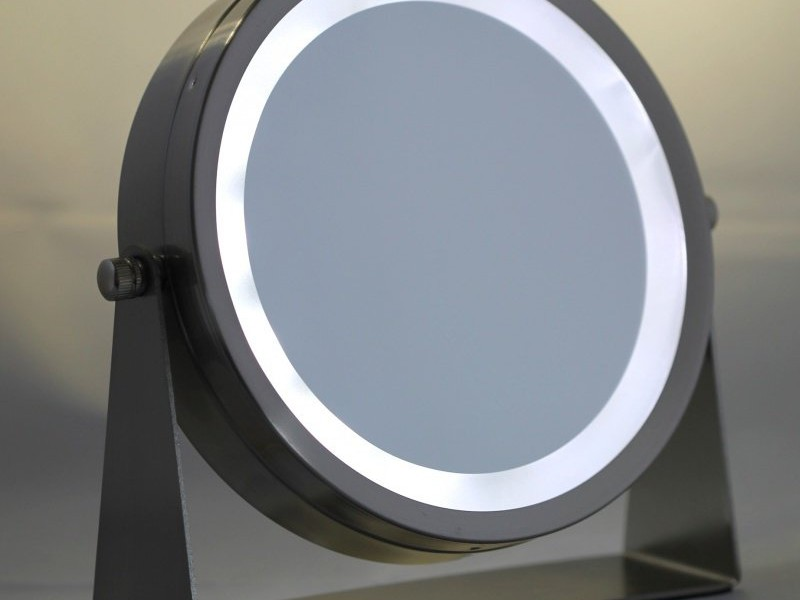 Battery Operated Makeup Mirror With Lights