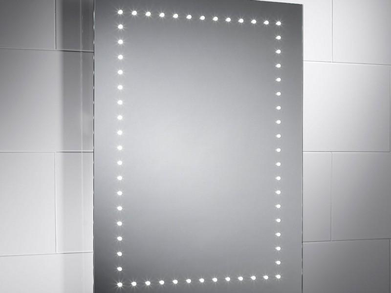 Battery Powered Led Bathroom Mirror
