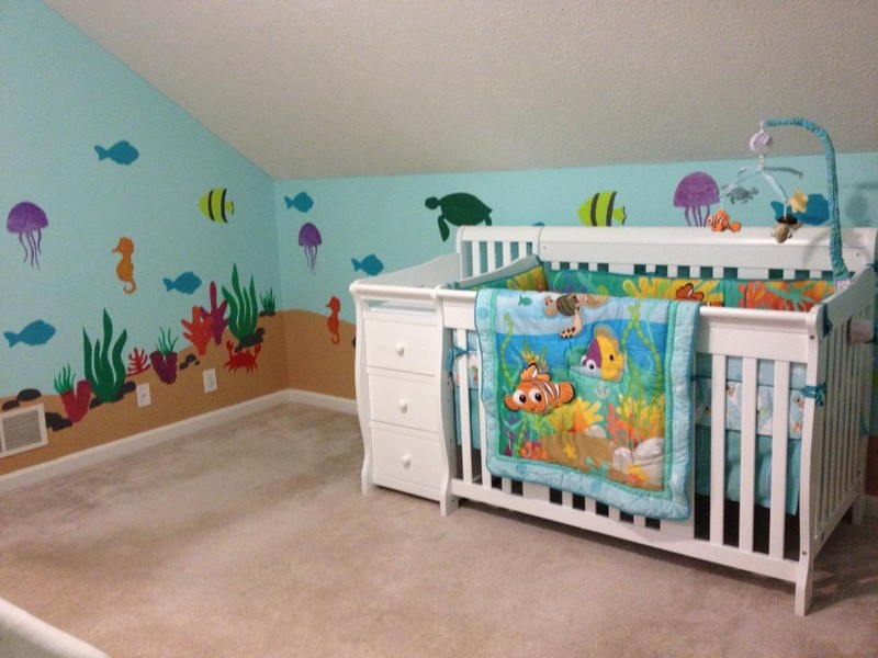 Beach Themed Baby Bedding