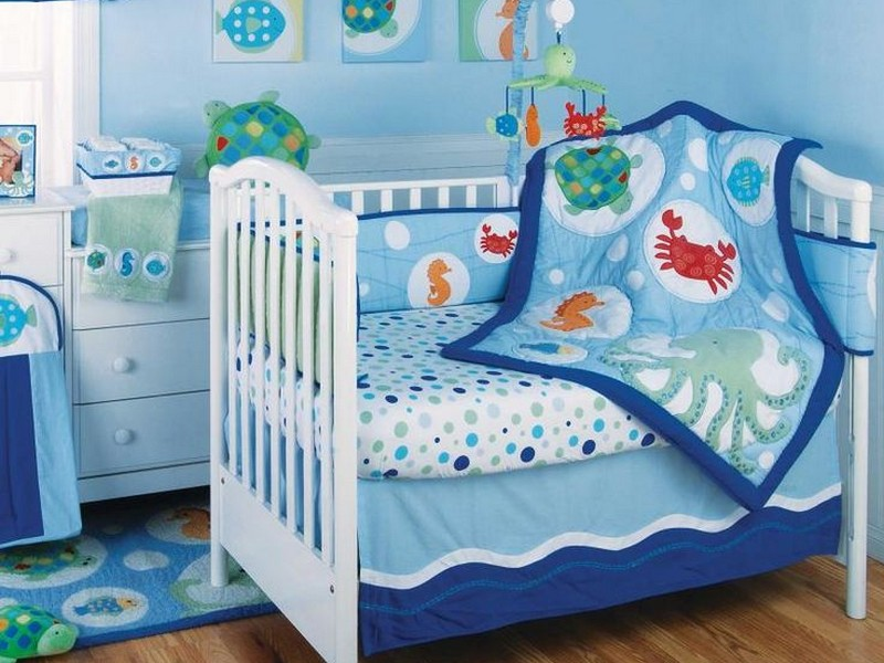 Beach Themed Crib Bedding