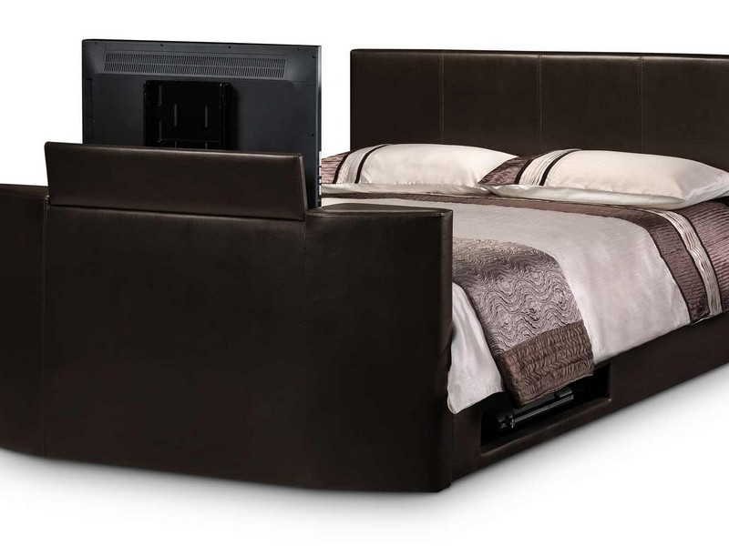 Bed With Tv In Footboard Aarons