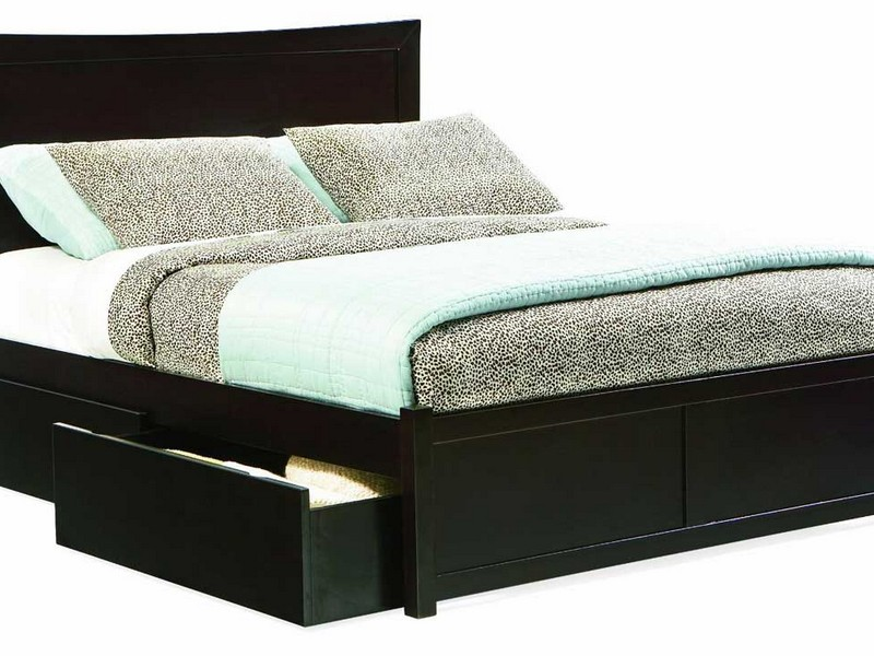 Bedframe With Drawers