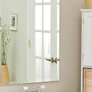 Beveled Bathroom Mirror