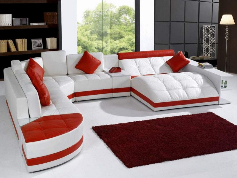 Big Fluffy Sectional Couches