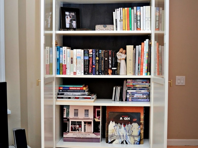 Billy Bookcase With Doors White