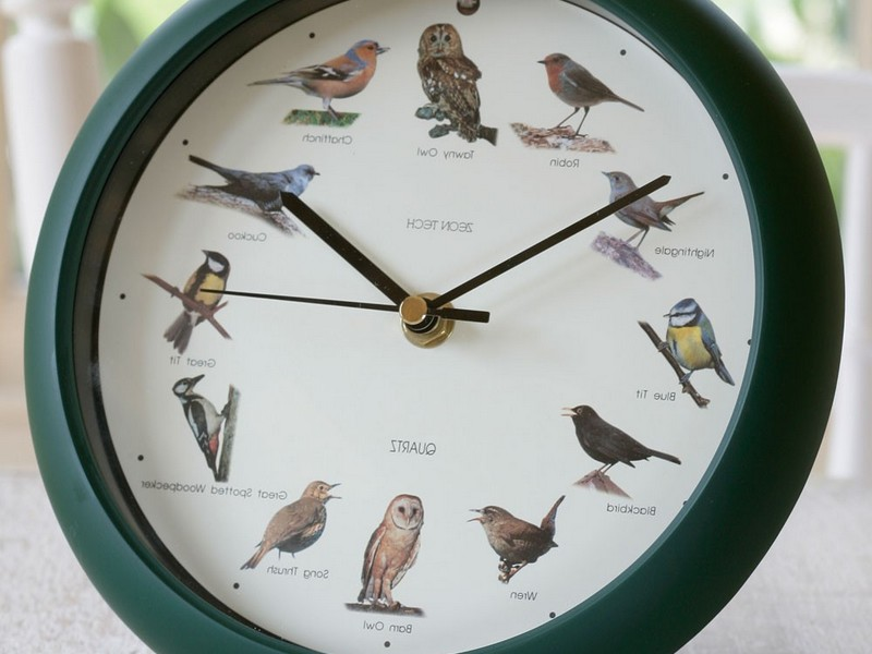 Bird Clocks With Sound