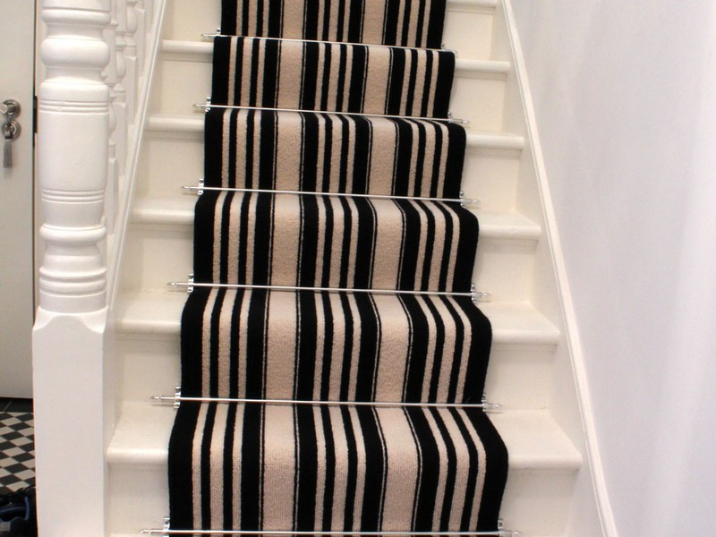 Black And White Carpet Runner