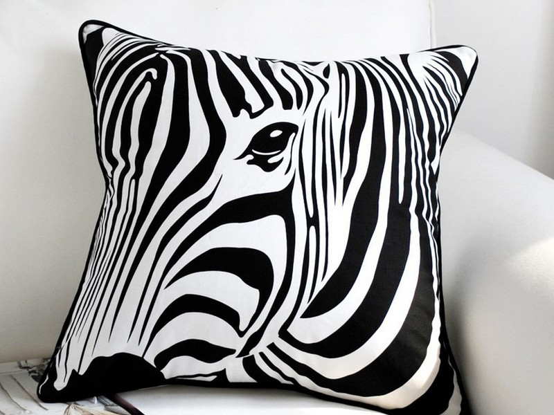 Black And White Pillow Cases
