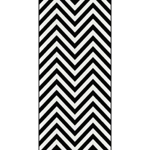 Black And White Runner Rug