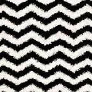 Black And White Shag Rug
