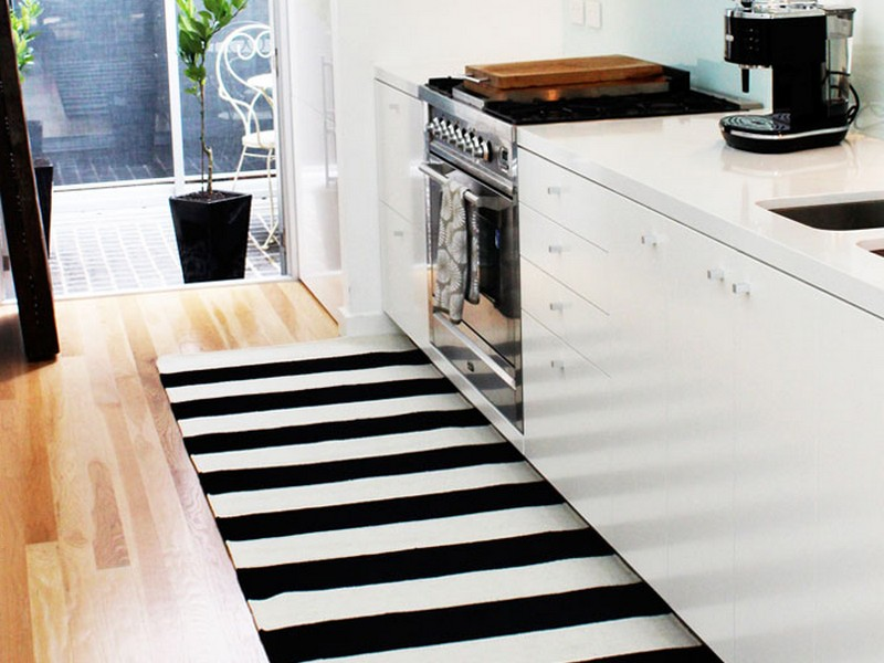 Black And White Striped Rug Nz