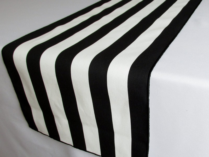 Black And White Table Runners Cheap