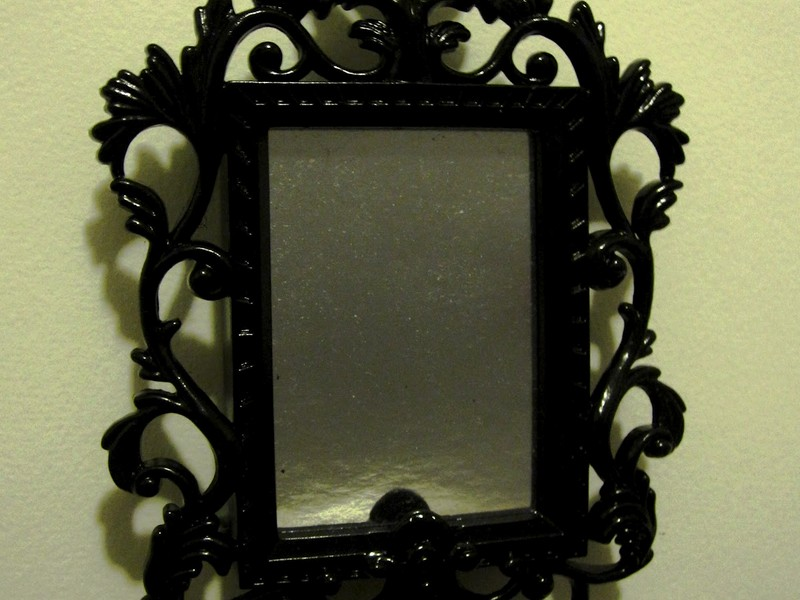 Black Baroque Mirror Ikea