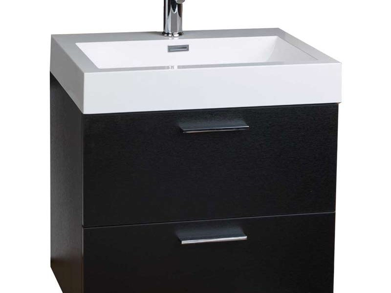 Black Bathroom Vanities Without Tops