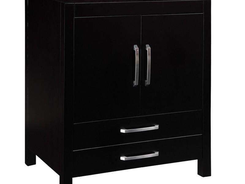 Black Bathroom Vanity Cabinet Only