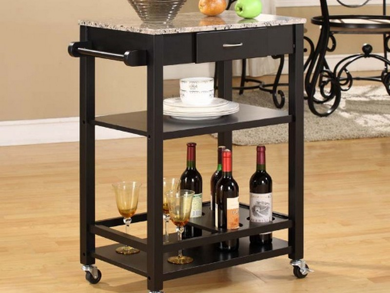 Black Buffet Server
