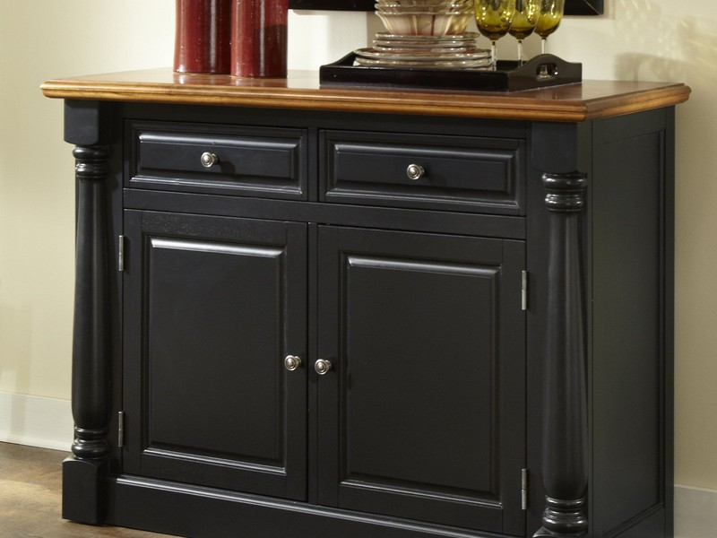 Black Buffet Sideboard