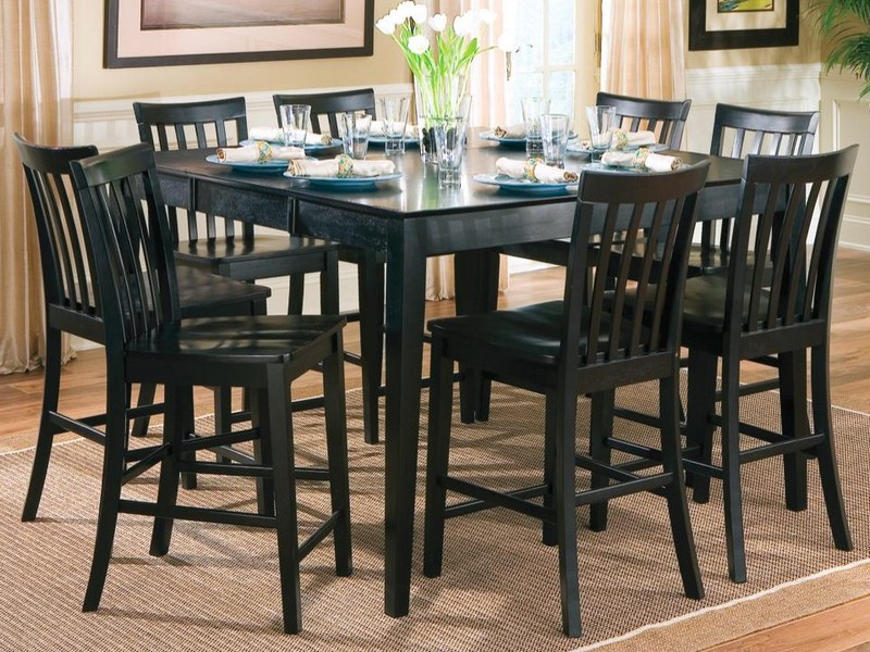 Black Counter Height Stools