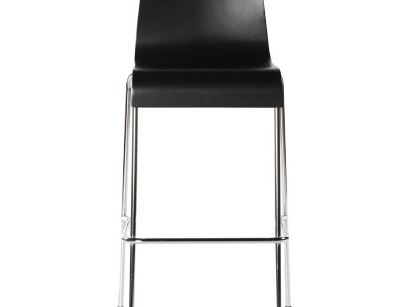 Black High Back Bar Stools