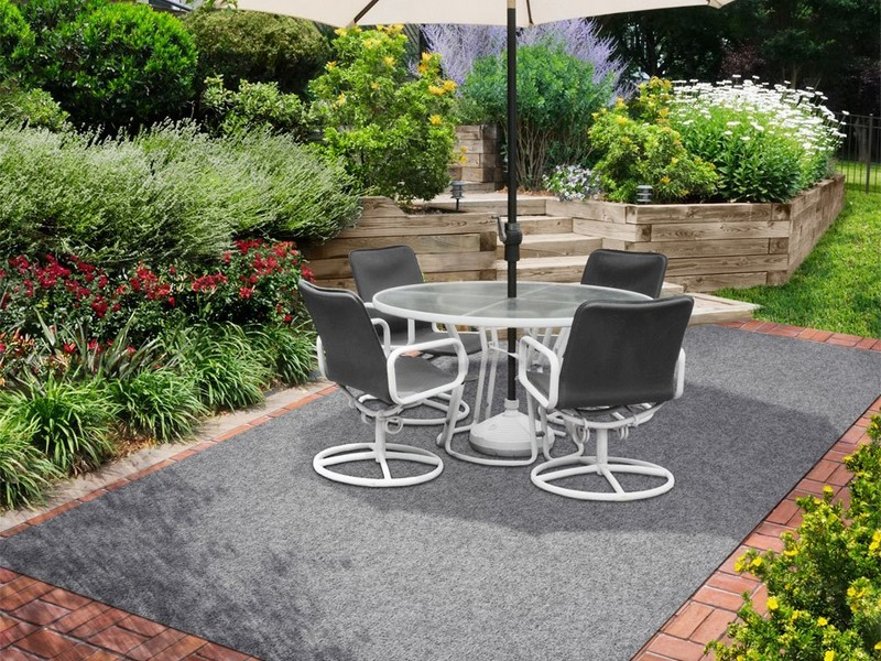 Black Outdoor Carpet Home Depot