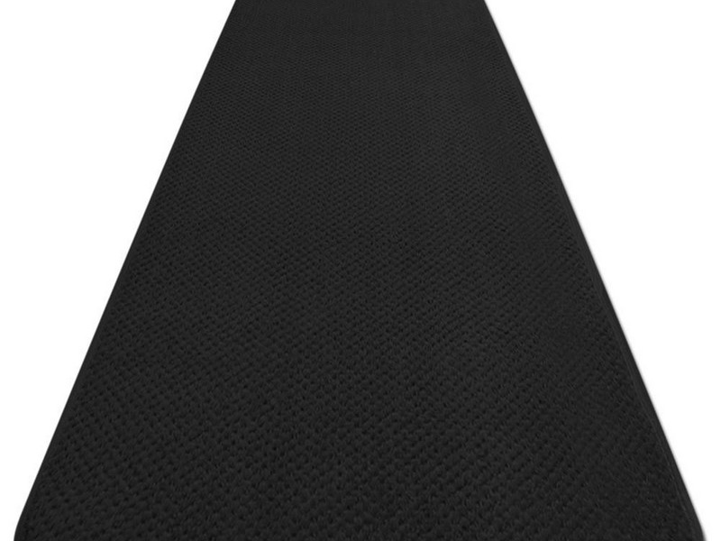 Black Outdoor Carpet Runner