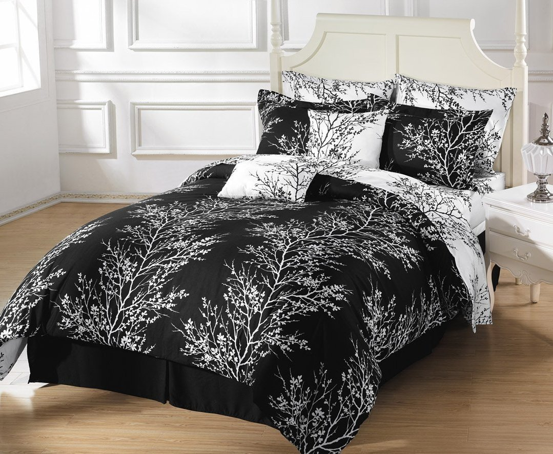Black Patterned Duvet Covers
