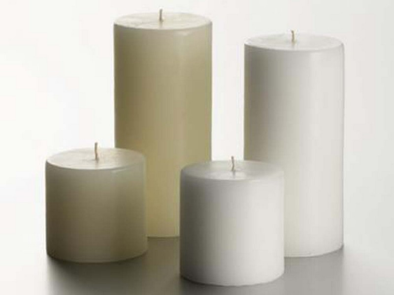 Black Pillar Candles Cheap