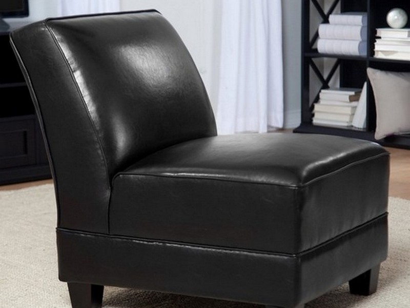 Black Slipper Chair