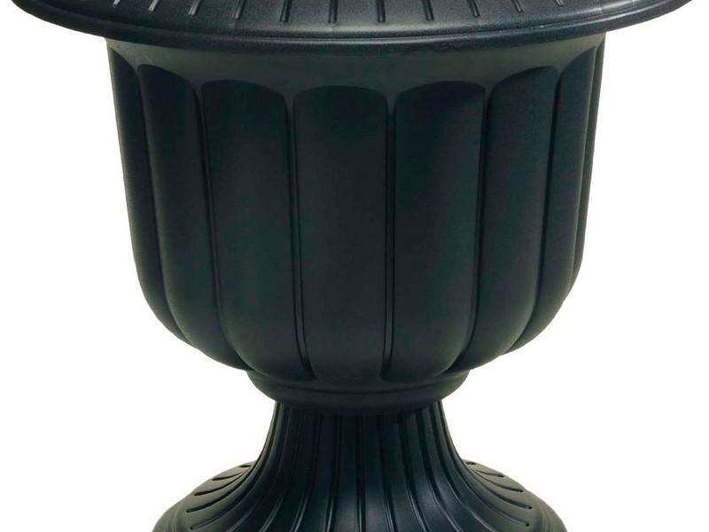 Black Urn Planters Home Depot