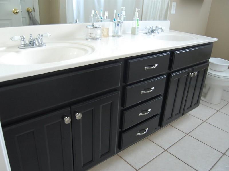 Black Vanities For Bathrooms