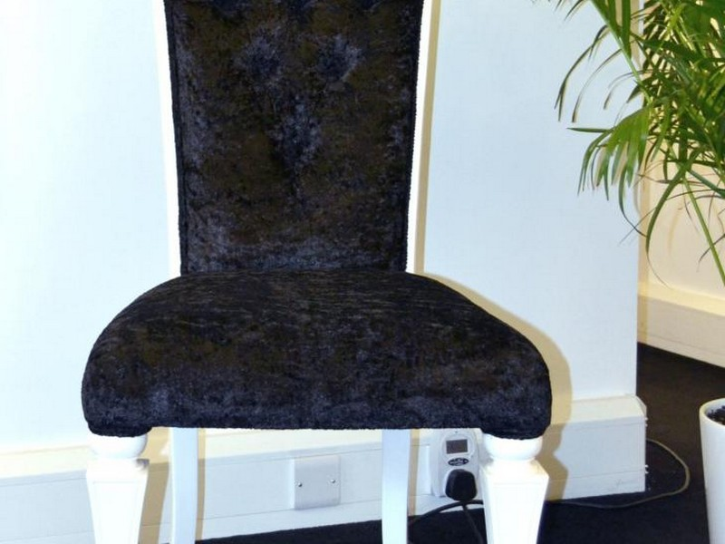 Black Velvet Dining Chairs Uk