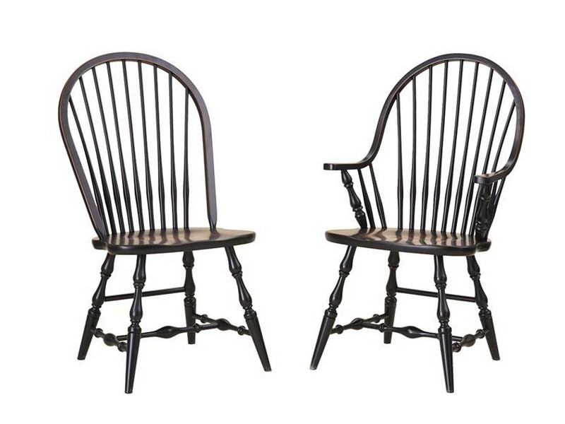 Black Windsor Chair