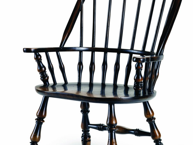 Black Windsor Chairs With Arms