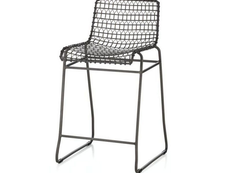 Black Wire Bar Stools