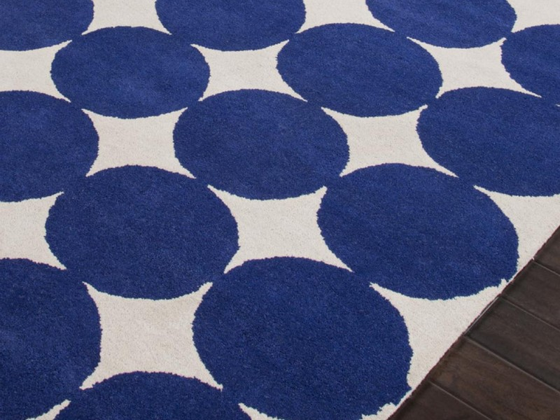 Blue And White Area Rugs