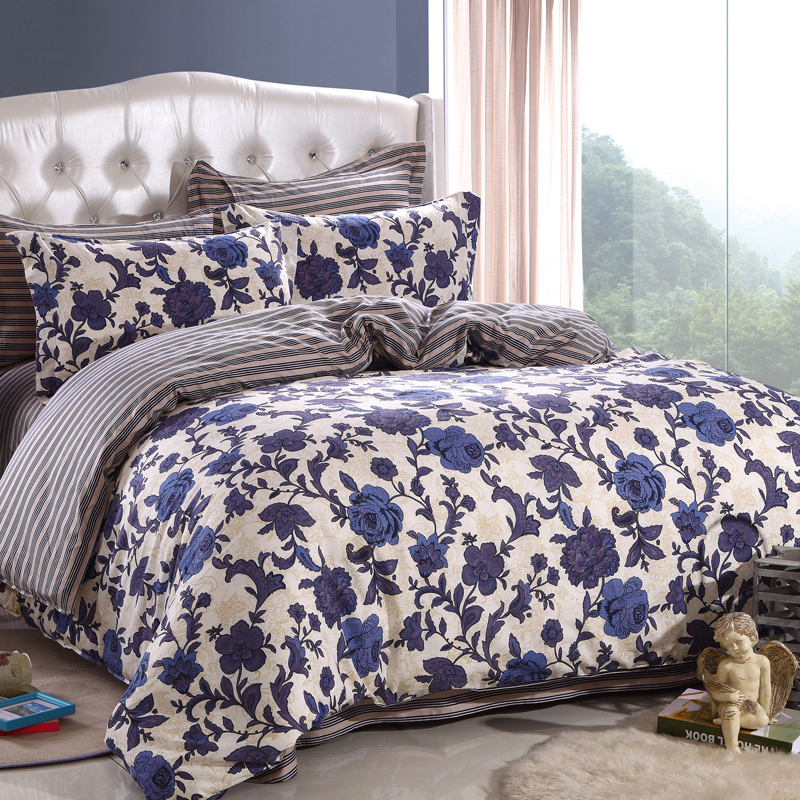 Blue And White Duvet Cover King
