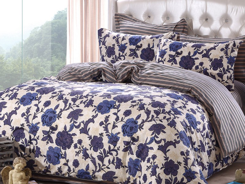 Blue And White Floral Duvet Covers