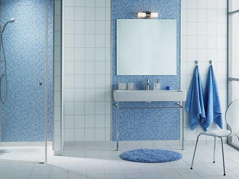Blue Mosaic Bathroom Accessories